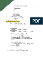 Boiler Heat Balance Sample Calculation Power Plant Design