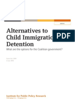 Alternatives to Child Immigration Detention