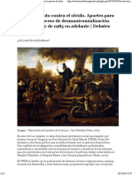 Historia Desmanicomializaicon Baroni
