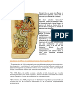 Teorías Mayas