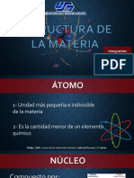 Biomateriales Estructura de la Materia