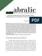 Recepção e Visibilidade ANAIS ABRALIC
