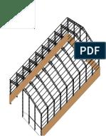 Vista 3D Galpon-ModelMM