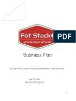 fat stack  -business plan