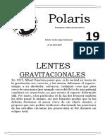 19 Lentes Gravitacionales....Teoria