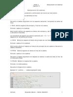Funciones de Cadenas Php