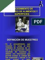 3° PROCEDIMIENTO DE MUESTREO
