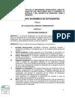 2. Reglamento Academico Utjr