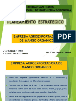 Empresa Agroexportadora de Mango Orgnico