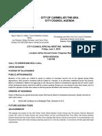 Agenda 06-01-18