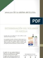 Arena Arcillosa