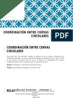 Coordinación Entre Curvas Circulares