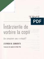 Intarzierile de vorbire la copii - Stephen M. Camarata.pdf