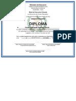 Diploma Sexto
