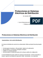 Protecciones en Sistema Distribuciónik