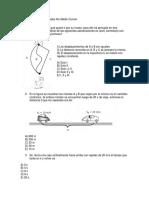 Preguntas de Física Comun 4m