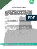 Bases Fondos Concursables FEUTFSM 2018