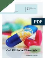 Flyer CAS Klinische Pharmazie 2017