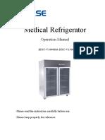 User manual of Medical refrigeraor BXC-V1000M&1500M.pdf