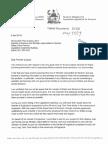 Correspondence to Preimer Quassa Regarding Kugluktuk's Plan for an Elders' Care Facility