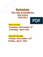 Schedule OLC