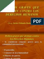 Delitos Graves Que Atentan Contra Los Derechos Humanos