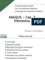 ABAQUS - Cap2 - Elementos