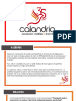 Calandria Presentacion