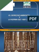 3-4 El Derecho Ambiental y La Norma 14001