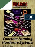 Concrete Forming Hardware