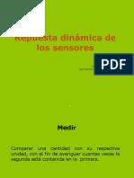 Repuesta Dinámica de Los Sensores