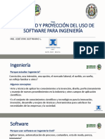 Actualidad y Proyeccion Del Uso de Software Para Ingeniería_bolivia