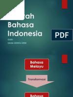 Materi 2_Sejarah Dan Ragam Bahasa Indonesia