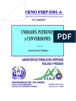 Coversion de Unidades