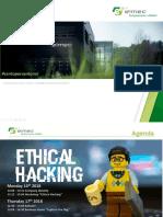 English EthicalHacking UniBS