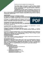 Control y Costeo de Costos Indirectos de Fabricacion