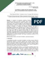 Autonomia Econômica e Mercado de Trabalho