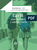Manual de Procedimiento - Civil Ante La Ninez