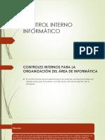 Control Interno Informàtico