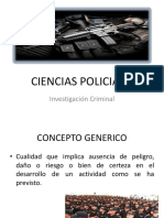 CIENCIAS POLICIALES