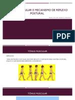 Aula- Tônus Muscular e Reflexo Postural. (1)