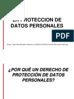 Proteccion de Datos Personales