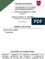 Semana 13 Medioambiente ISO 14001