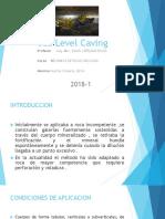 Sub Level Caving Luis Blas
