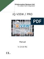 Iq-View 2 5 0 User Manual Int Es - 001r