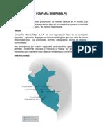 Empresas Mineras Del Peru- Yacimiento
