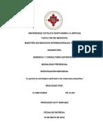La gerencia estratégica aplicada a las empresas pequeñas.docx