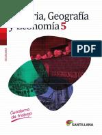 Cuaderno de Trabajo Historia Geografia Economia 5