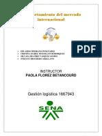 Comportamineto Del Mercado Internacional