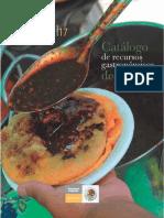 Catálogo de Recursos Gastronómicos de México 1